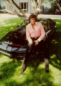 K2000 - Michael Knight assis sur KITT